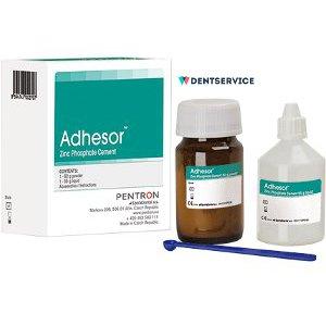 Адгезор (Adhesor)- двухкомпонентный цинк-фосфатный цемент