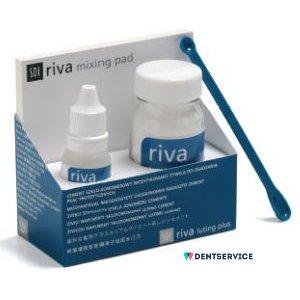 Riva Luting Plus - стеклоиономерный самоотверждаемый цемент для фиксации